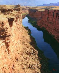 On the Colorado River - Eastern Grand Canyon